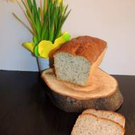 Chleb pszenno - żytni z makiem i czarnuszką