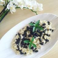 Czarno – biała sałatka makaronowa