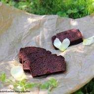 Ciasto czekoladowe z czerwonej fasoli bez mąki