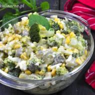 Niezwykle prosta sałatka z brokułem