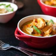 Tajskie czerwone curry / Red thai chicken curry