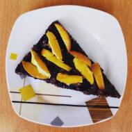 Tarta kakaowa z owocami