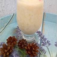Zdrowy shake bananowy (z olejem kokosowym)