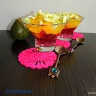 Deser z galaretką i gujawą