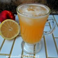 Lemoniada z nektarynką