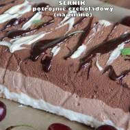 Sernik potrójnie czekoladowy (na zimno)