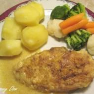 Filety z kurczaka w sosie miodowym