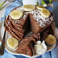 Kakaowe placuszki z bananem i cynamonem