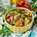 Kasza kuskus z warzywami i kurczakiem