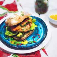 Drobiowe burgery z suszonymi pomidorami OLE!