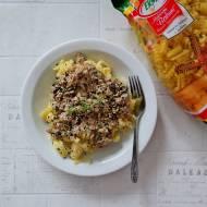 Makaron z sosem z kurek
