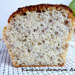 Łatwy chleb pszenno-żytni z ziarnami na zakwasie