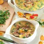 Prosta zupa grzybowa z ziemiakami