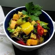 Sałatka- miks pieczonych warzyw