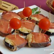 Bakłażan z szynką serrano