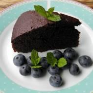 Ciasto czekoladowo-miętowe.