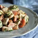 bób po wiejsku z cebulą, kiełbasą i boczkiem - szybki obiad na lato