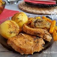 Filet indyka z ziemniakami w gyrosie