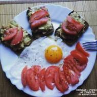 PASTA Z AWOKADO (pełnowartościowy posiłek)