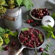 Chutney wiśniowy z cukinią i tymiankiem