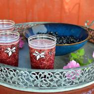 Orzeźwiający koktajl z jagodami i roszponką