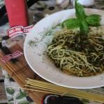 Spaghetti Spinaci