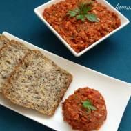 Pomidorowy tatar (wegański, bez oleju)
