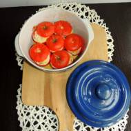Pomidory faszerowane karczochami i serem feta
