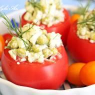 Pomidory faszerowane sałatką z kalafiora