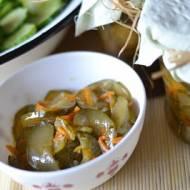 Sałatka marynowana z ogórków