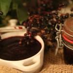 Dżem z owoców czarnego bzu z dodatkiem