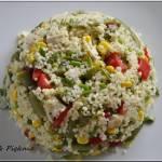 Fasolkowo - kuskusowa sałatka