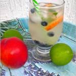Miodowo-limonkowa woda smakowa (z całymi owocami)
