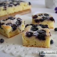 Ciasto jogurtowe zborówkami