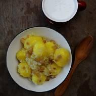 Okraszone ziemniaki z maślanką