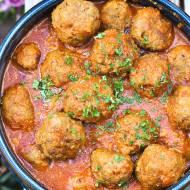 Pulpeciki w sosie pomidorowym z orechiette