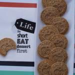 Bezglutenowe wegańskie ciasteczka digestive
