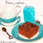 Ciasto kakaowe z cukinią i nutką korzenną.