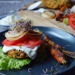 Odpicowane wege-burgery z komosy