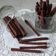 Chrupiące czekoladowe paluszki
