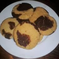 ciasteczka czekoladowo waniliowe