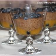 """Karobowy pudding z tapioki i """"Zapisane w wodzie"""""""