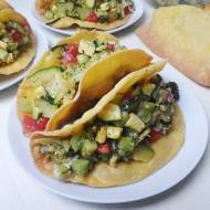 TACO OD PODSTAW w domu – tacos z lekką sałatką (wegańskie)