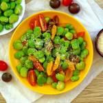 Sałatka z bobu i pomidorów
