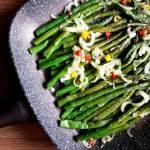 Szparagi zielone z chili
