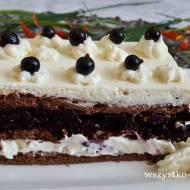 Ciasto porzeczkowe bez pieczenia