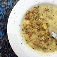 Zupa kurkowa prosta i pyszna ( zupa z kurek )