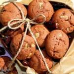 Wegańskie ciasteczka z syropem daktylowym i bananem