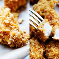 Pieczone nuggetsy z masłem orzechowym (3 składniki)