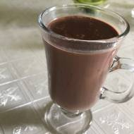 Czekolada pitna z nutą czarnej porzeczki- niczym z Pijalni Wedla!